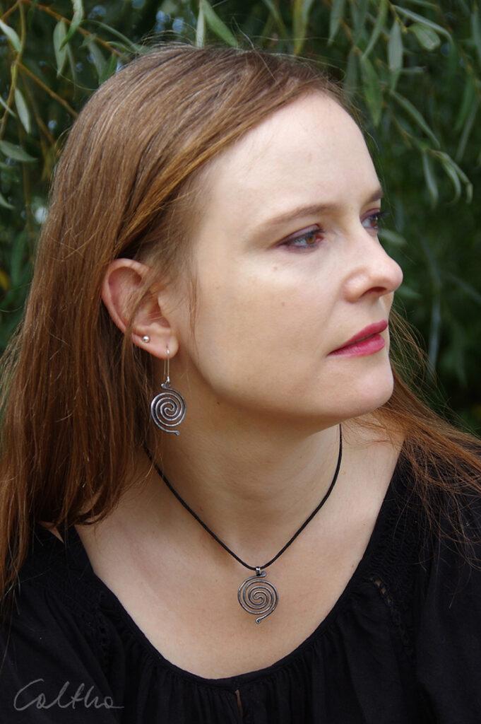 Srebrna biżuteria Swirls